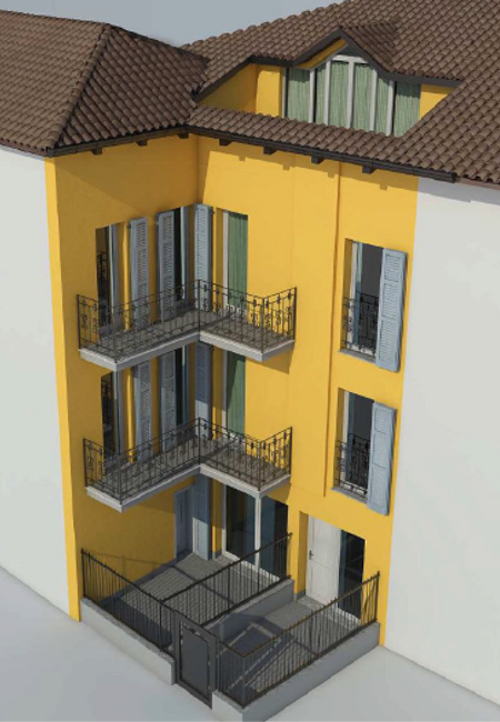 DELO 01 CAM - Campione d'Italia - Two Room Apartment
