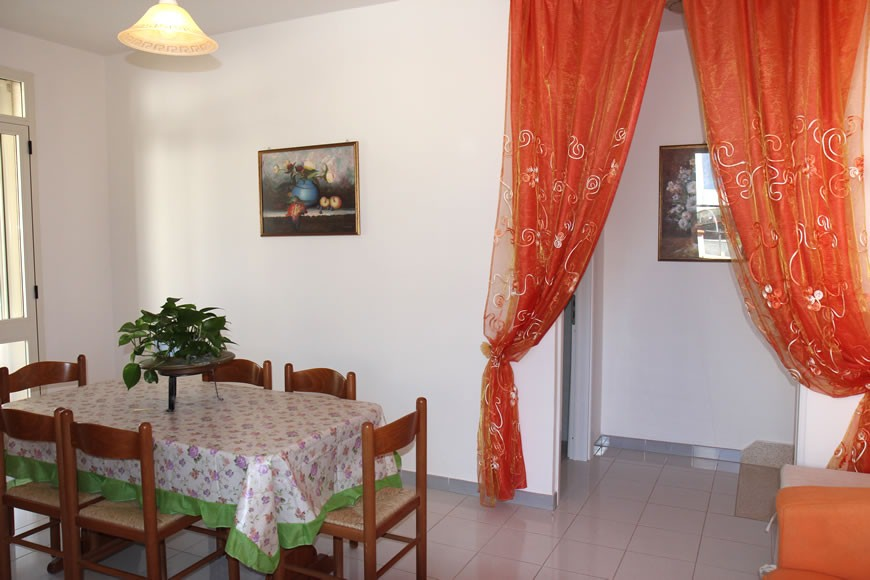 Apulia Puglia holidays - Ground floor holiday apartment for rent in Torre Vado - Apartment sea